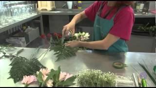 Como hacer un Ramo de Flores - Técnicas de Alambrado de Flores