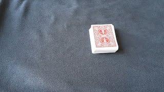 선택한 카드가 맨위로 올라오는 마술