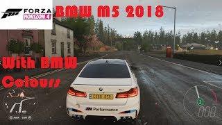 Forza Horizon 4-2018 BMW M5 Gameplay
