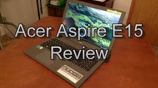 Acer Aspire E15 (940m) Review - Theje's Notebook Review