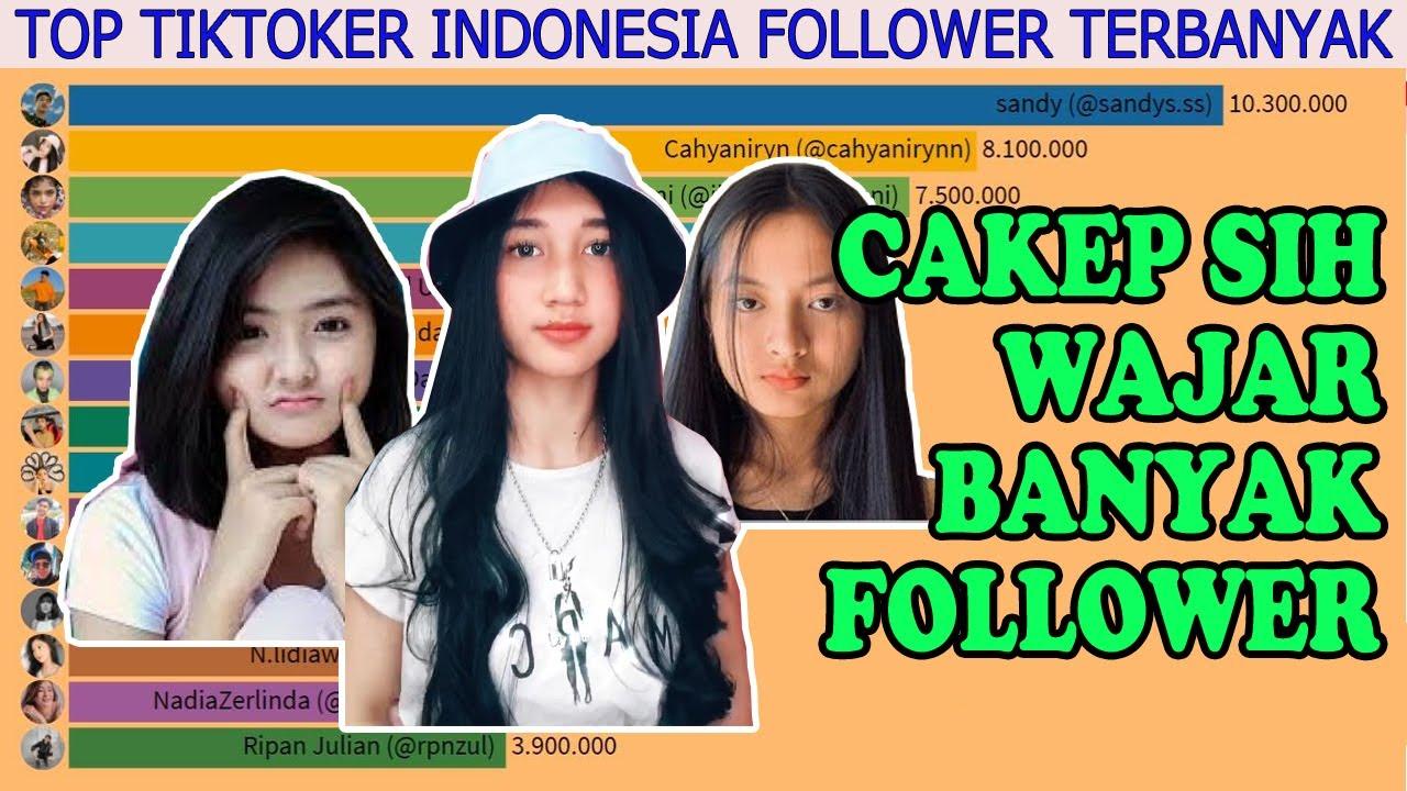 Top 15 Tiktoker Indonesia Dengan Followers Tiktok Terbanyak Di Indonesia Youtube