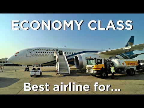 Emirates, Qatar & Etihad vs. Oman Air - Best Economy Class in the Middle East?