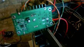 DC-DC CC CV понижающий преобразователь. Ремонт. Схема.