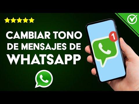 Cómo Cambiar el tono de Mensajería, Llamada y Notificaciones de WhatsApp en Android