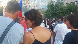 Protivládní demonstrace Praha 5.6.2018 - Martin Jaroš