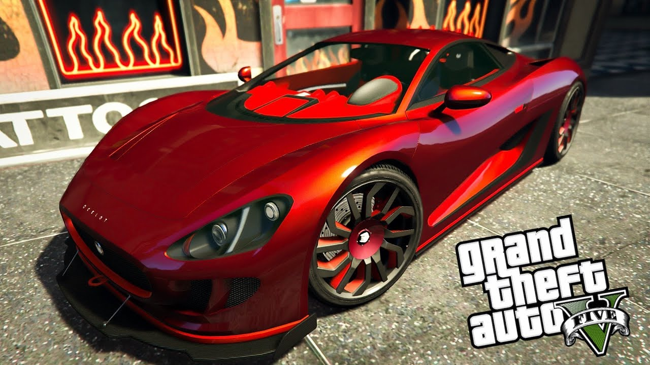 top 5 ocelot xa 21 paint jobs in gta online crew colors