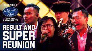 DEWA 19 X ARI LASSO X ANANG X JUDIKA - ARJUNA - RESULT & REUNION - Indonesian Idol 2021