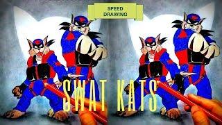 Swat Kats | Speed Drawing