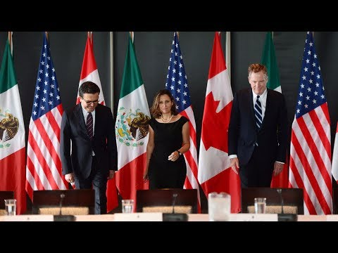 Is the United States making 'outrageous' demands in NAFTA?