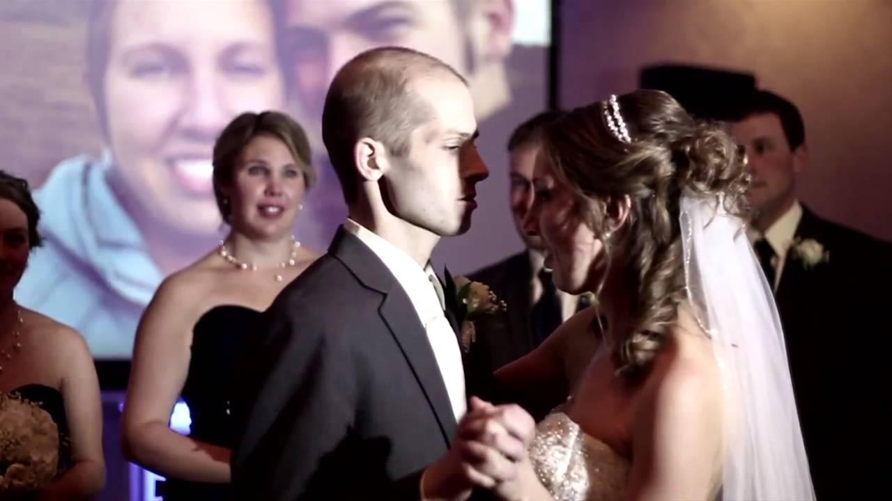 brandon and kassies wedding youtube