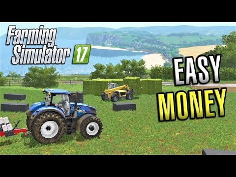 Farming Simulator 2017 | EASY MONEY | Sandy Bay | Episode 16