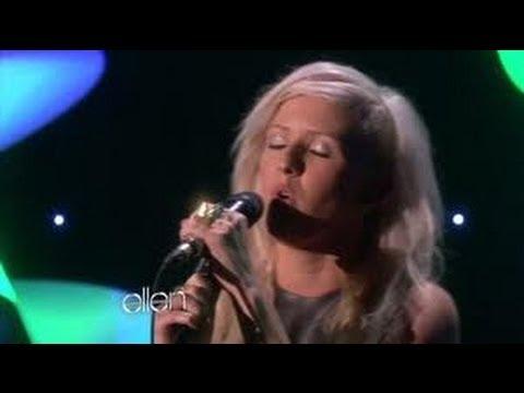 Ellie Goulding Performs 'Burn' on Ellen show