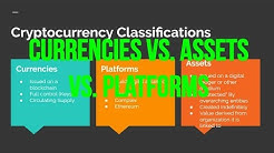 📉 Cryptocurrencies (BITCOIN) vs. Platforms (ETHEREUM) vs. Assets (GOLEM)? What Are They? 📊