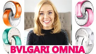 BVLGARI OMNIA PERFUME RANGE REVIEW | Soki London