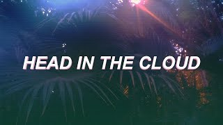 joji head in the cloud lyric