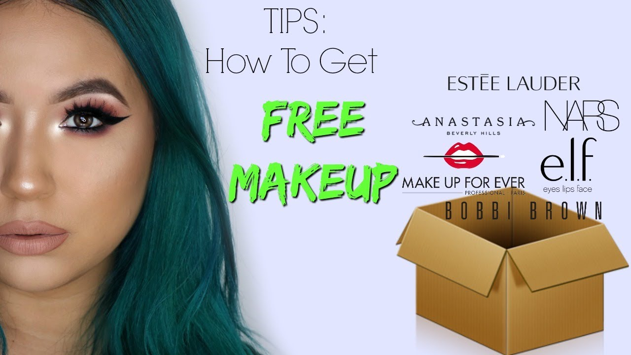 How to get free cosmetics from companies
