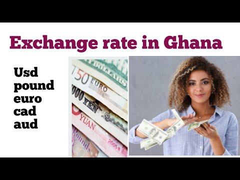 Exchange Rate In Ghana| 100 Euro To Ghana Cedis| Dollar Rate In Ghana| Euro To Ghana Cedis