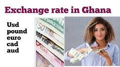 exchange rate in ghana| 100 euro to ghana cedis| dollar rate in ghana| euro to ghana cedis