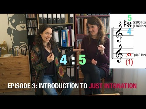 Episode 3: Introduction to just intonation | The Royal Wind Music & Seldom Sene