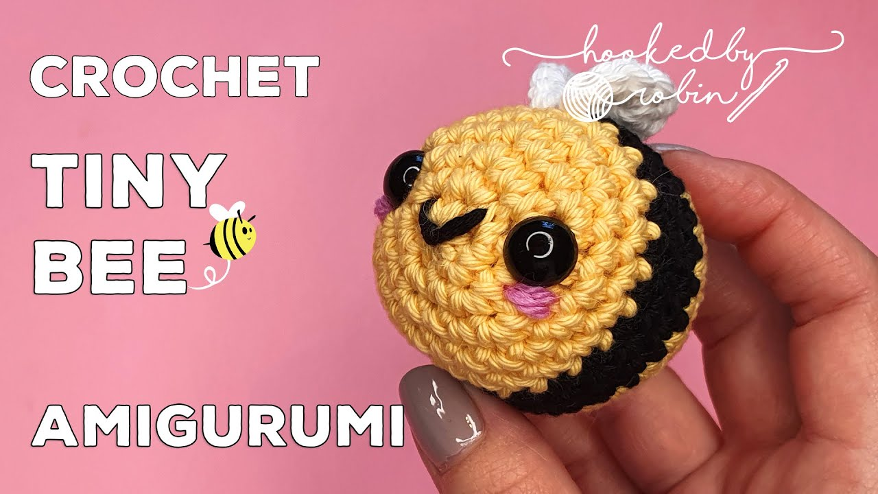 Amigurumi TINY Bumblebee   Crochet Bee Tutorial 🐝