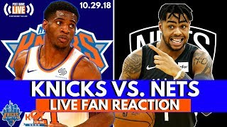 Knicks Stomp The Nets 115-96 💪 | LIVE Postgame Highlights, Reaction & Fan Phone In!| 10.29.18