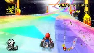 Custom Track - 3DS Rainbow Road [v1.0] (By BigOto2)