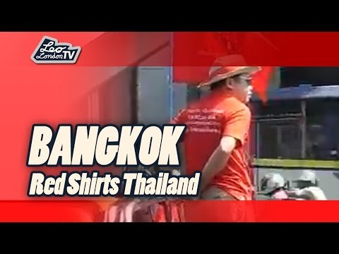 Truth Today in Bangkok. Revolutions Party der Rote Hemden - Red Shirts Thailand