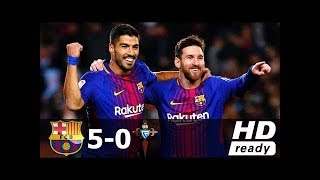 Barcelona vs Celta Vigo 5-0 - All Goals & Extended Highlights - Copa del Rey 11/01/2018 HD