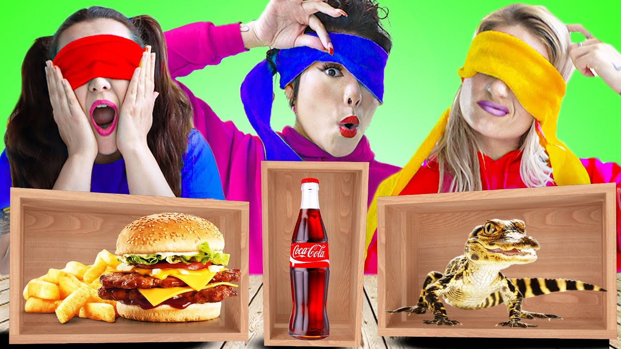 10 CRAZY FOOD CHALLENGE IN 24 HOURS | LAST TO STOP EATING SURPRISED FOOD WINS BY CRAFTY HACKS