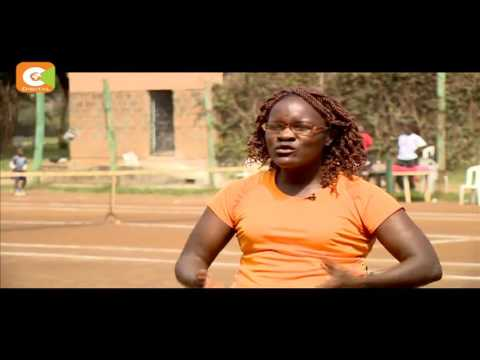 Strength of a woman: Veronicah Osogo teaches youngsters in slums how to play tennis
