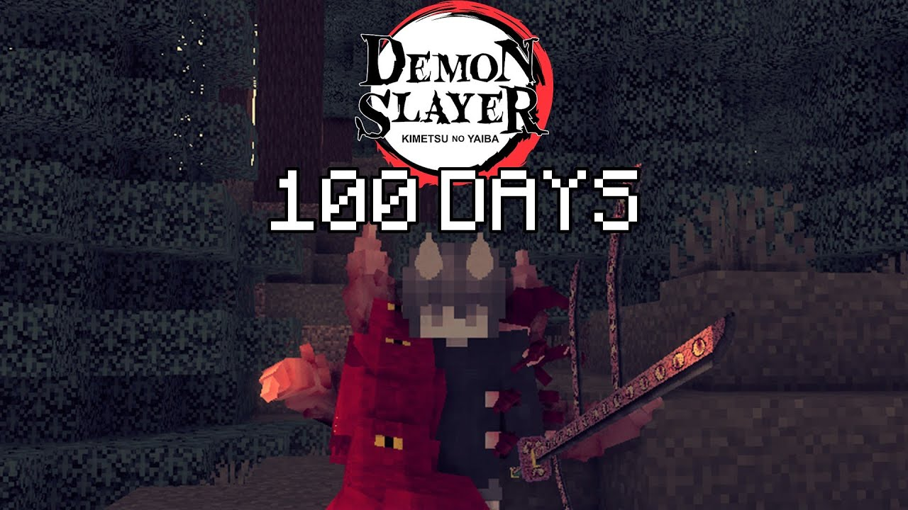 Download I Played Minecraft Demon Slayer As A DEMON For 100 DAYS… This Is What Happened