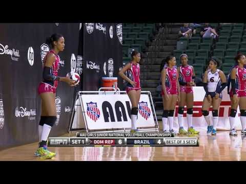 #AAUVBNatls: Dominican Republic vs. Brazil (18)