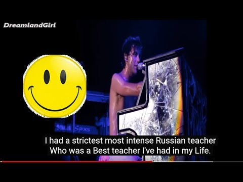 MIKA @ MOSCOW - ABOUT HIS RUSSIAN TEACHER (Eng sub)