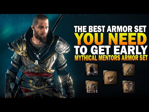 The Best Armor Set You Need To Get Early! Assassin's Creed Valhalla Mentors Set