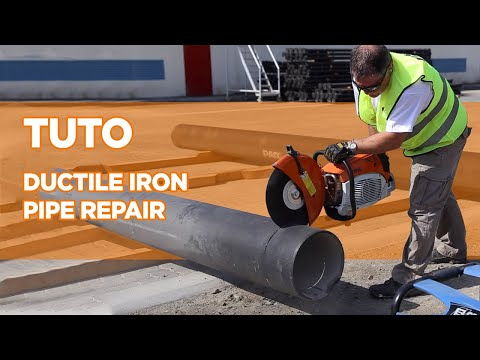 Ductile Iron Pipe Repair tutorial - Saint-Gobain PAM