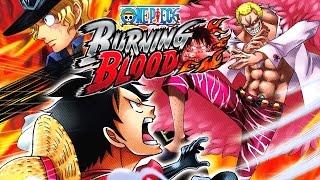 One Piece Burning Blood - Complete Story Mode Walkthrough    ワンピース バーニングブラッド