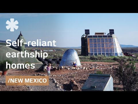 Earthships: self-sustaining homes for a post-apocalyptic lan