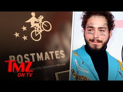 Post Malone Is The King Of Postmates | TMZ TV