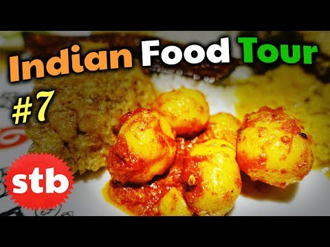 REAL Bengali Food Buffet // NORTH INDIAN FOOD Tour #7 in Kolkata, West Bengal, India
