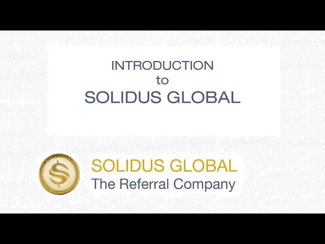 Introduction - Solidus Global
