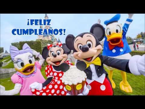 Canción Feliz Cumpleaños De Mickey Mouse Que Los Cumplas Feliz Youtube