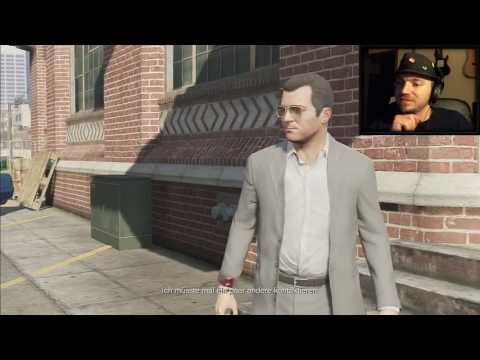 GTA V  HD DE #7: Der Juwelier Raub  [HD] Facecam