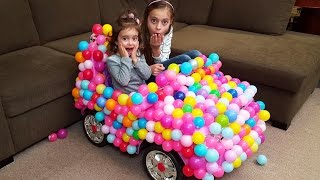 Emily's  Magic  Ball Car / Bad Baby transform Balls