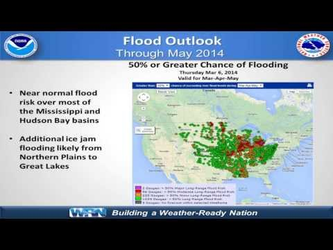 Spring Hydrologic Outlook for the Mississippi Basin (March Briefing)