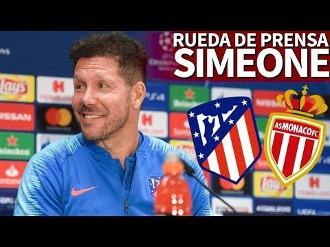 Atlético de Madrid - Mónaco | Rueda de prensa de Simeone y Lucas Hernández | Diario AS
