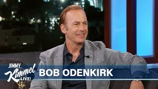 Bob Odenkirk on Better Call Saul & Son Working at Kimmel