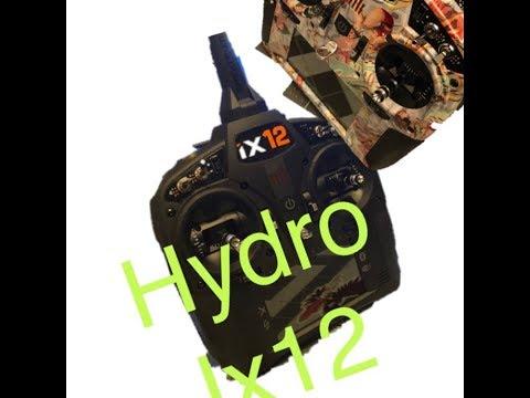 hydrographic on my new Spectrum iX12
