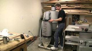 Laguna Tools 2 Hp Mobile Cyclone Dust Collector Review - Part 2.mp4