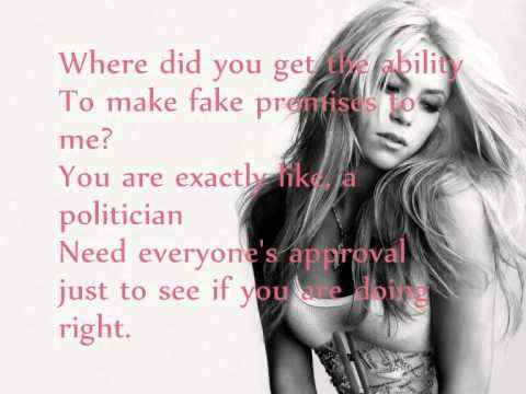 Shakira - Mon Amour + Lyrics