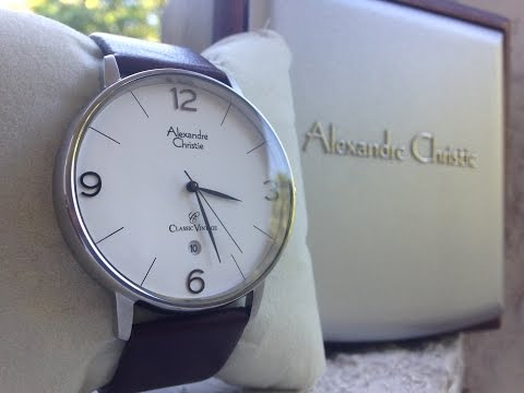 [ID] Unboxing Alexandre Christie Classic Vintage